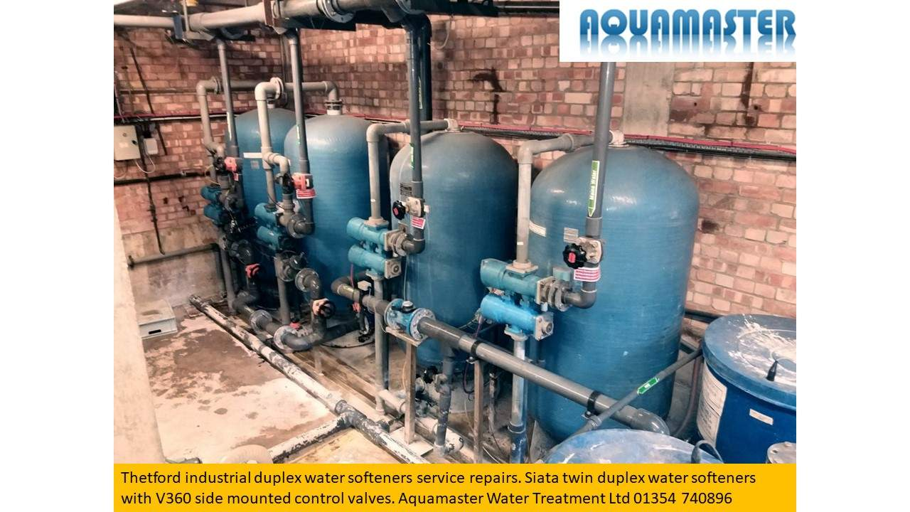 Double duplex water softener treatment system
